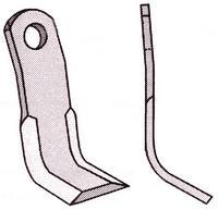 Y-kniv f/Kuhn 175/40/8 mm. Ø16,5 mm.